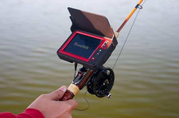 видеоудочка на рыбалке
